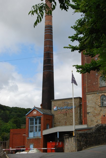 Stowford Paper Mill in Devon